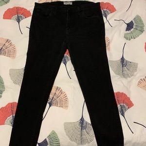 Madewell roadtripper black jeans size 32